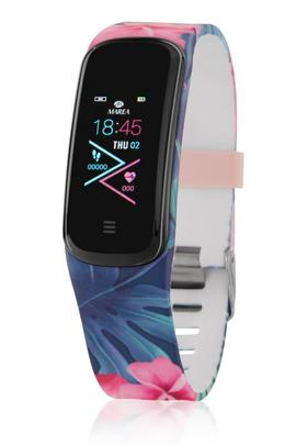 Smart watch MAREA ovalado 2 correas flores az/negr