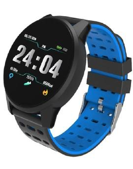 Smartwatch RADIANT Brooklyn Bridbge correa caucho bicolor
