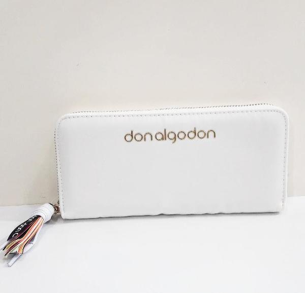 Cartera DON ALGODÓN Blanca